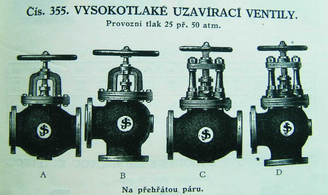 Period catalogue of Jindra and Šrefl company in 20´s